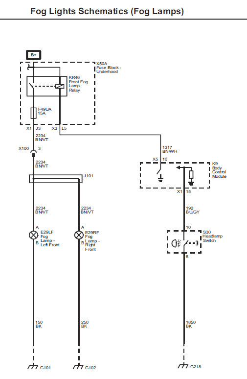 FogLights courtesy light wiring diagram 2010 tahoe diagram wiring diagrams 2010 silverado headlight wiring diagram at crackthecode.co