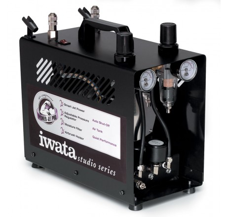 iwata power jet pro airbrush compressor is 975. Black Bedroom Furniture Sets. Home Design Ideas