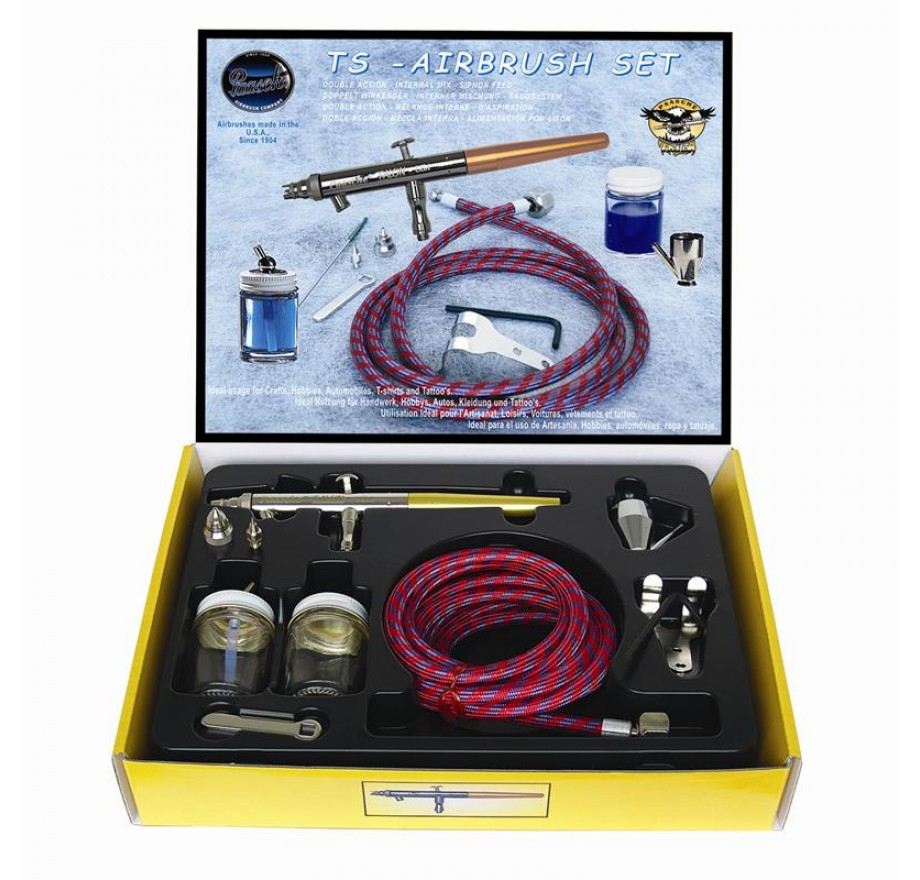 Paasche Talon Double Action Siphon Feed Set TS-SET