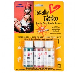 Badger Airbrush Totally Tattoo Body Paint 22-104