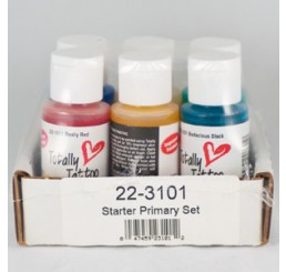 Badger Totally Tattoo Body Paint Primary Set 22-3101