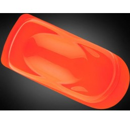 W027 Wicked Colors Airbrush Paint - Fluorscent Orange - 2oz