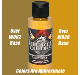 W067 Wicked Colors Airbrush Paint - Detail Raw Sienna - 2oz