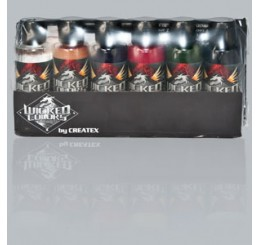 W111-00 Wicked Colors Airbrush Paint - Steve Driscoll Flesh Tone Set - 2oz